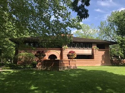 at FLW home & studio - Oak Park