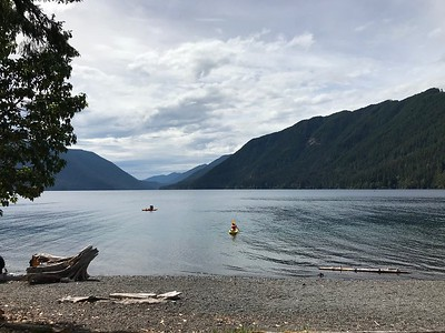Lake Crescent - glacially fed