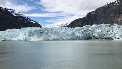Glacier calving!