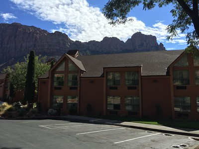 Holiday Inn Express nestled among the beauty of Zion