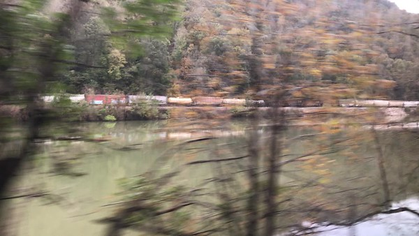 VIDEO  Amtrak - Charleston to White Sulfur Springs