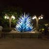 Chihuly glass art exhibit at Denver Botanic Gardens.