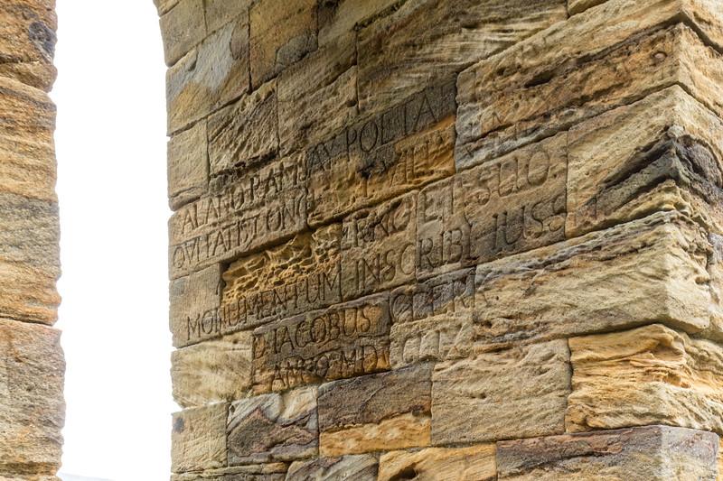 Inscription on Penicuik Monument