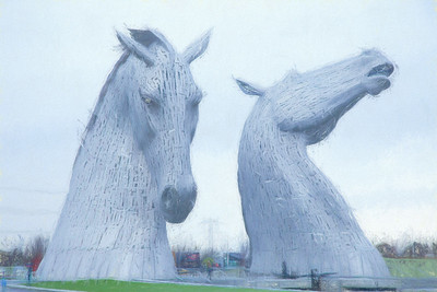 Kelpies penciled