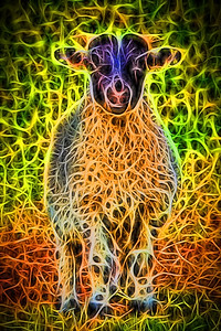 Lamb from fractal branches