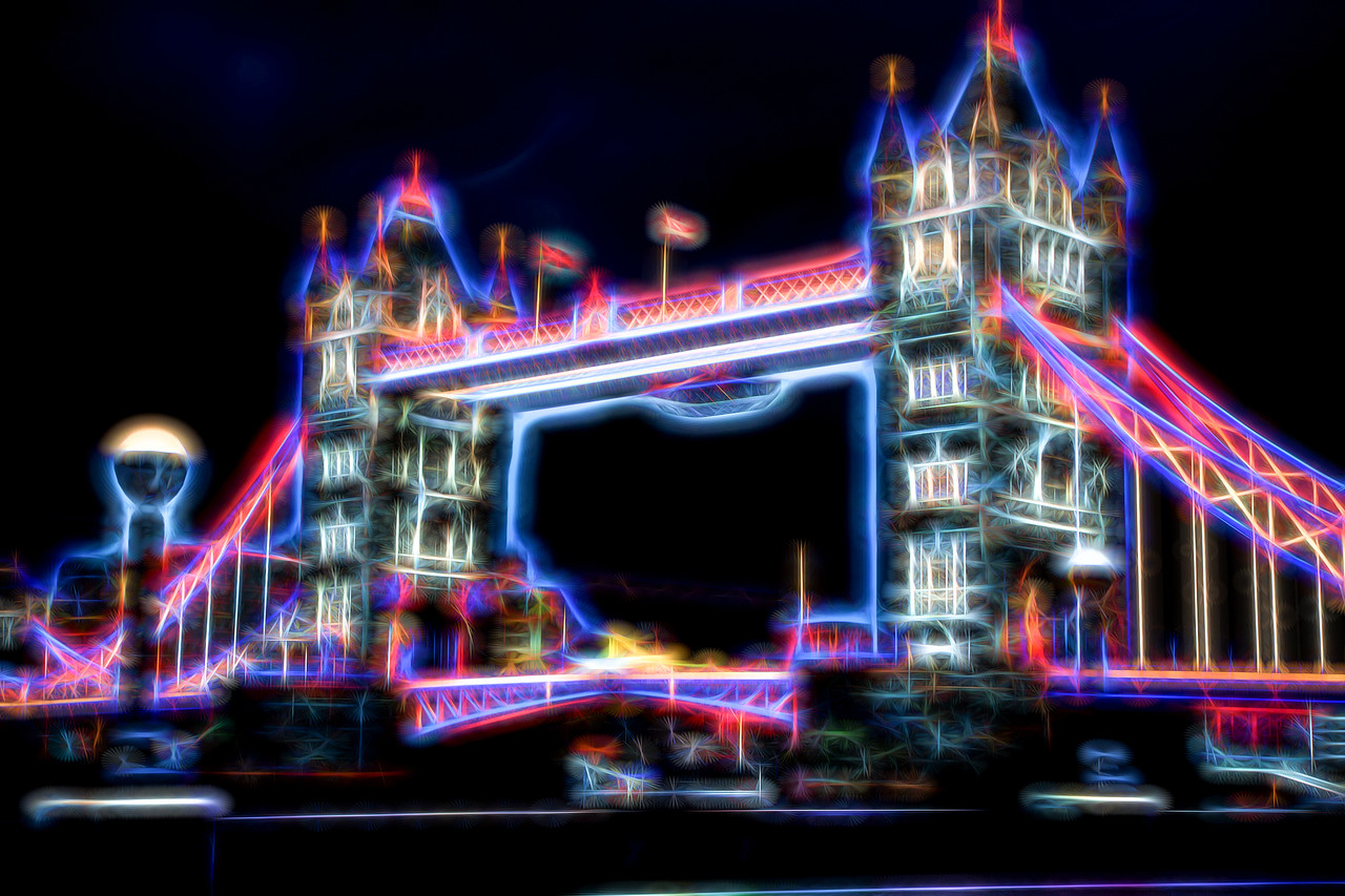 Tower Bridge in fractals