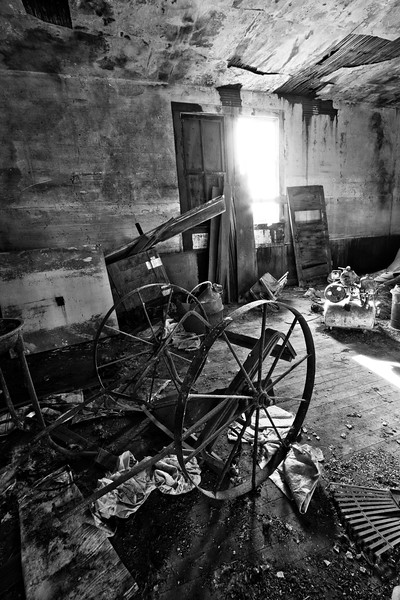 "Old Home History<br /> A photo inside a burnt out church-like building in Oregon.<br /> Purchase this photo at the top right by clicking ""buy"".<br /> 2x3 printing format<br /> 24""x36"" Max printing size.<br /> Displayed at 16""x24"""