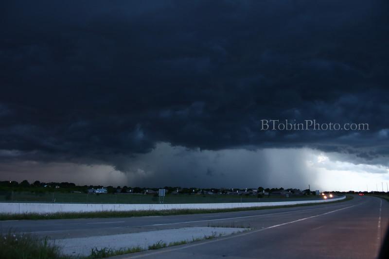 Storm Cell Denton, TX