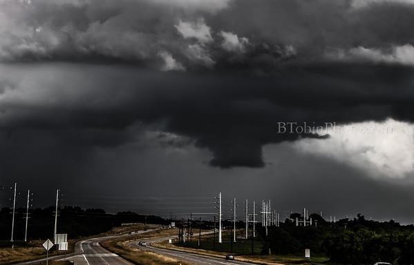 Low Cloud: Denton, TX 2016