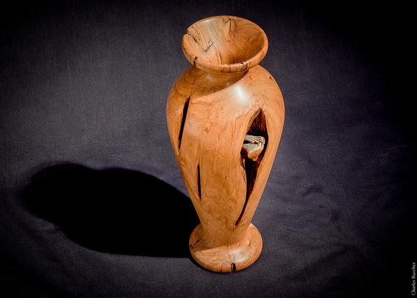 Wooden Vase