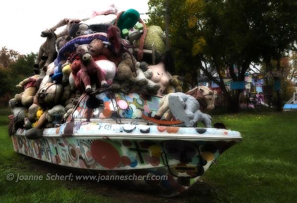 Polka Dot Boat
