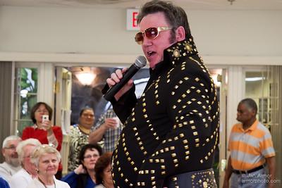 Elvis at Senior Center