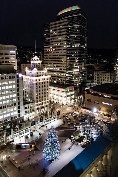 Pioneer Courthouse Square - the city's livingroom