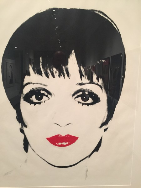 Liza Minnelli by Andy Warhol