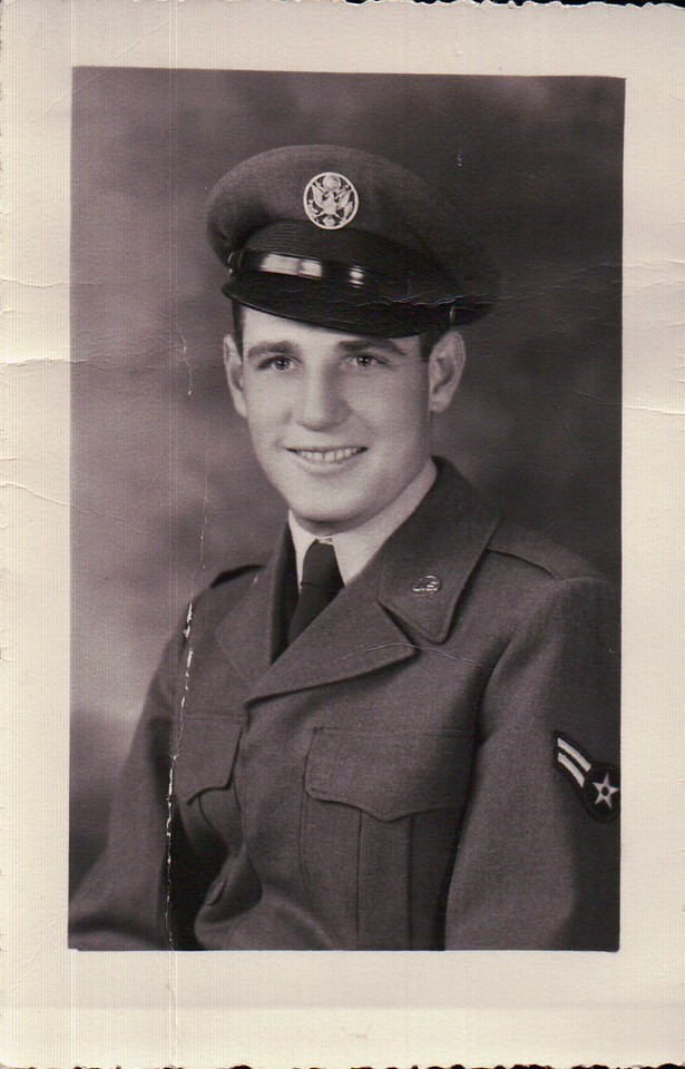 Dad in the Air Force