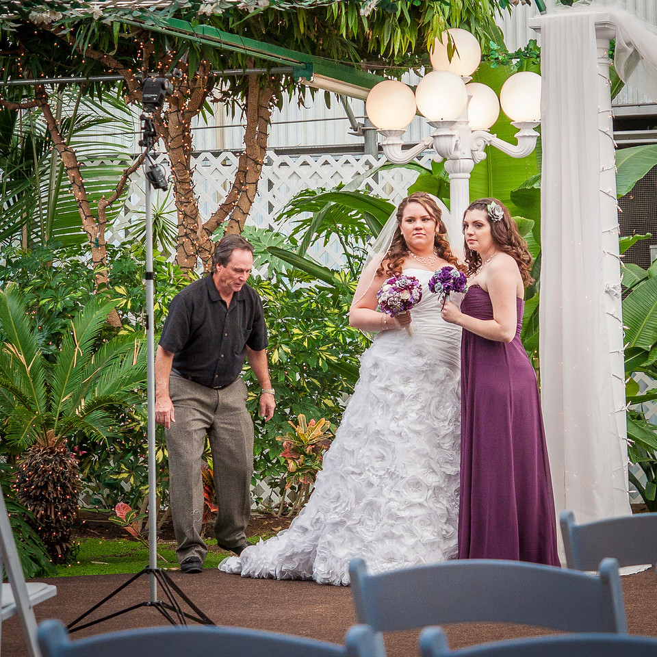 Wedding Photographer at Work