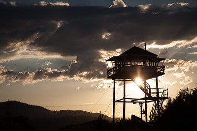 Missoula lookout tower