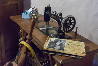 Sewing Machine and Notions - MacGregor Ranch Study