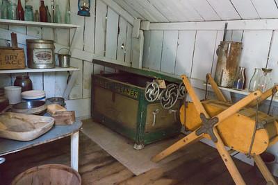 Inside the Milk House