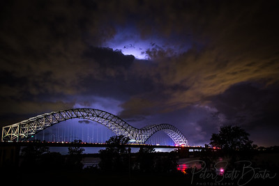 Night, memphis, New South Wales, Dusk, Bridge - Man Made Structure, Sky, Famous Place, Architecture, Dark, Sunset, Twilight, Cloud - Sky, Blue, Travel Destinations, River, Illuminated, Outdoors, Memphis Bridge, Hernando de Soto Bridge, Mississippi River, storm, clouds, lightning, traffic,
