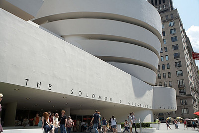 The Guggenheim Museum in New York city.