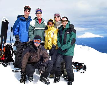 st  helens, summit group portrait