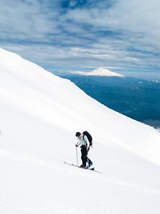 Adam Langford Climbing St. Helens