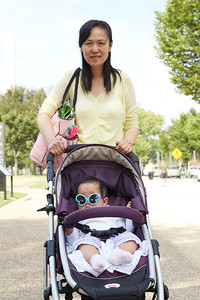 Travel Baby visits DC.