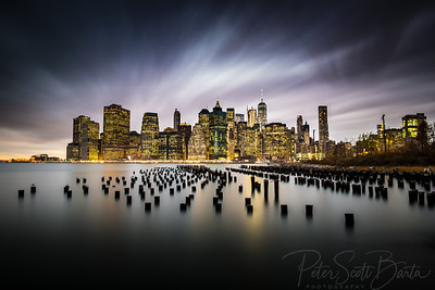 New York Skyline - 5 Minute Exposure