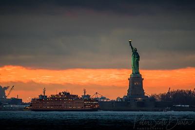 StatueOfLiberty_sunset-002