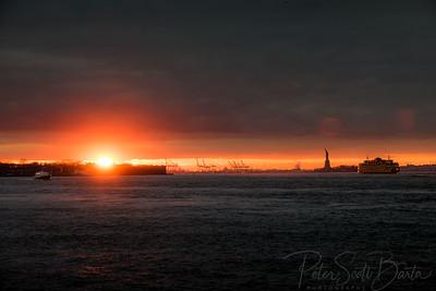 StatueOfLiberty_sunset-001