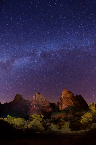 Milky Way over the Patriarchs