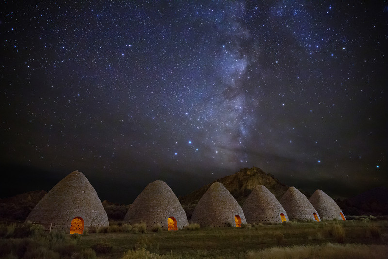 Stars over Ward Charcoal Ovens
