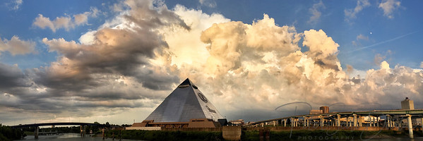 Storm over Pyramid