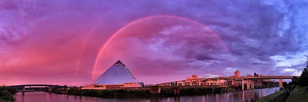 Rainbow_over_Pyramid_Memphis