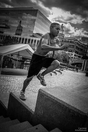 Parkour in Providence, Rhode Island