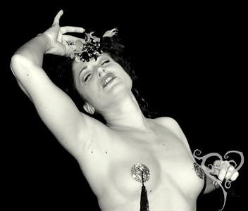 Lady Borgia  Keyhole Cabaret - Burlesque show in San Diego