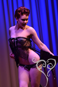 Nina Bel Vande  Knickers for Knockers - Burlesque show in San Diego, CA