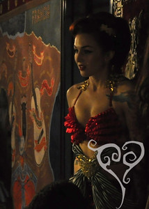 Stephanie Castro  The Pandorica Opens - Burlesque show in San Diego