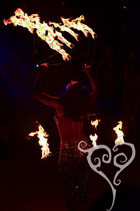 Marina the Fire Eating Mermaid! (MeduSirena)  Tiki Oasis - Burlesque show in San Diego, CA