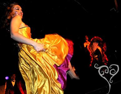 Venatrix Vae  Keyhole Cabaret - Burlesque show in San Diego