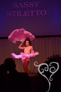 Sassy Stiletto  Knickers for Knockers - Burlesque show in San Diego, CA