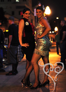 "Valentina ""Unity"" and Jacqueline Chaton  Keyhole Cabaret - Burlesque show in San Diego"