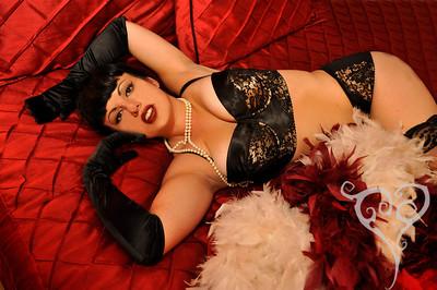 Rachel Maria Classic Hollywood Burlesque Pin Up