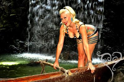 Tana The Tattoed Lady Tiki Oasis Pin Up