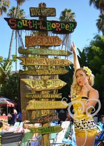 Shelby Loveland Tiki Oasis Pin Up