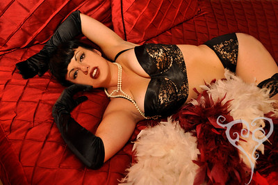 Rachel Maria Classic Hollywood Burlesque Pin Up