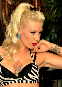 Tana The Tattoed Lady Tiki Oasis Pin Up