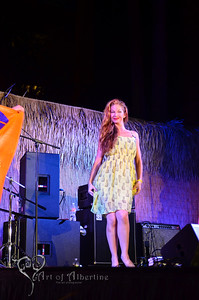 Retro Diva Fashion Show on the main stage at Tiki Oasis on Friday night. Violetta Beretta