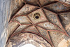 Ceiling in archway at Charles Bridge